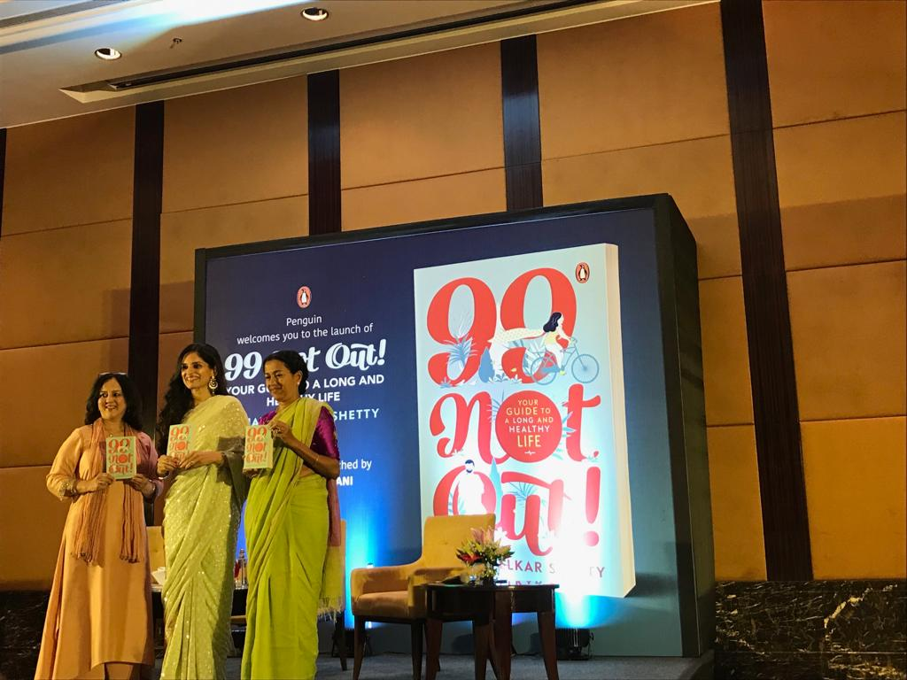 Launch of Sujata Kelkar Shetty's 99 Not Out