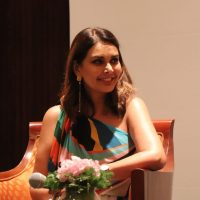 Lisa Ray at launch of Close to the Bone in Bangalore.